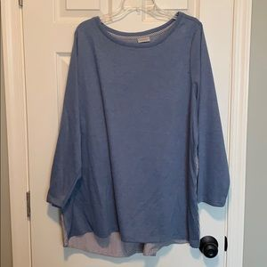 *Avenue dress up sweater with button back (22/24)